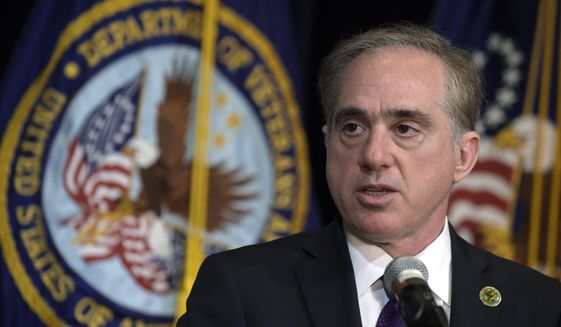 Veterans Affairs Secretary David J. Shulkin surprised lawmakers last month when he revealed that money for the Veterans Choice Program is expected to run dry by mid-August because of unexpectedly high demand. (Associated Press/File)