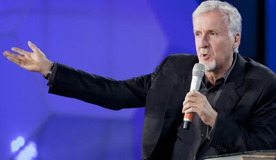 """James Cameron is a filmmaker, director, producer, screenwriter, inventor, engineer, philanthropist, and deep-sea explorer. He first found major success with the science-fiction action film The Terminator (1984). He then became a popular Hollywood director and was hired to write and direct Aliens (1986); three years later he followed up with The Abyss (1989). He found further critical acclaim for his use of special effects in Terminator 2: Judgment Day (1991). After his film True Lies (1994) Cameron took on his biggest film at the time, Titanic (1997), which earned him Academy Awards for Best Picture, Best Director and Best Film Editing. Cameron enrolled at Fullerton College, a two-year community college, in 1973 to study physics. He switched to English, then dropped out before the start of the fall 1974 semester. He worked several jobs, including as a truck driver, writing when he had time. During this period he taught himself about special effects: """"I'd go down to the USC library and pull any thesis that graduate students had written about optical printing, or front screen projection, or dye transfers, anything that related to film technology. Cameron quit his job as a truck driver to enter the film industry after seeing Star Wars in 1977"""