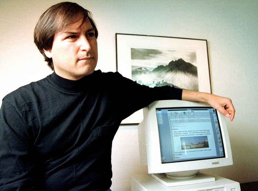 Steve Jobs was the co-founder, chairman, and chief executive officer (CEO) of Apple Inc.; CEO and majority shareholder of Pixar; a member of The Walt Disney Company's board of directors following its acquisition of Pixar; and founder, chairman, and CEO of NeXT. Jobs and Apple co-founder Steve Wozniak are widely recognized as pioneers of the microcomputer revolution of the 1970s and 1980s.  In 1972 Jobs attended Reed College in Portland, Oregon before dropping out after one semester. Jobs and Wozniak teamed up to work on the first Apple product in the Jobs family garage. The Apple 1 was released in 1976.