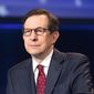 Fox News Sunday host Chris Wallace is among the network's anchors enjoying increased ratings, besting his Sunday talk rivals on the broadcast networks in a key viewer demographic. (Fox News) ** FILE **