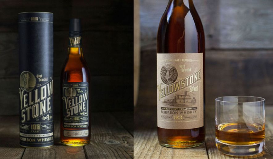 Yellowstone Straight Kentucky Bourbon