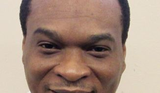 This undated photo released by the Alabama Department of Corrections, shows Robert Bryant Melson, in Atmore, Ala. Melson is scheduled to be executed June 8, 2017, in Alabama by lethal injection after being convicted of killing three fast food restaurant employees during a 1994 robbery. (Alabama Department of Corrections via AP)
