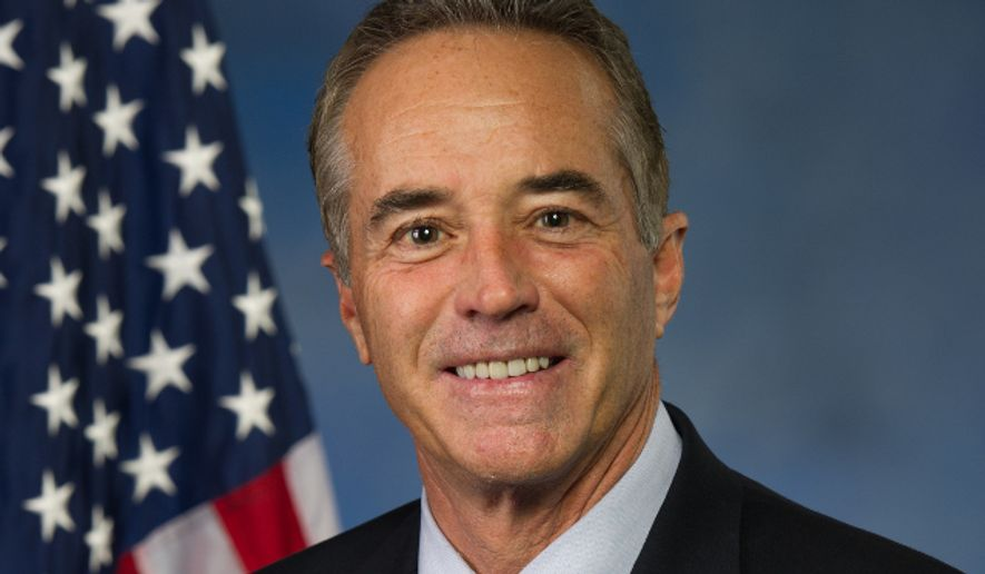 Rep. Chris Collins (R-N.Y.) is shown here in his official congressional portrait. (chriscollins.house.gov)