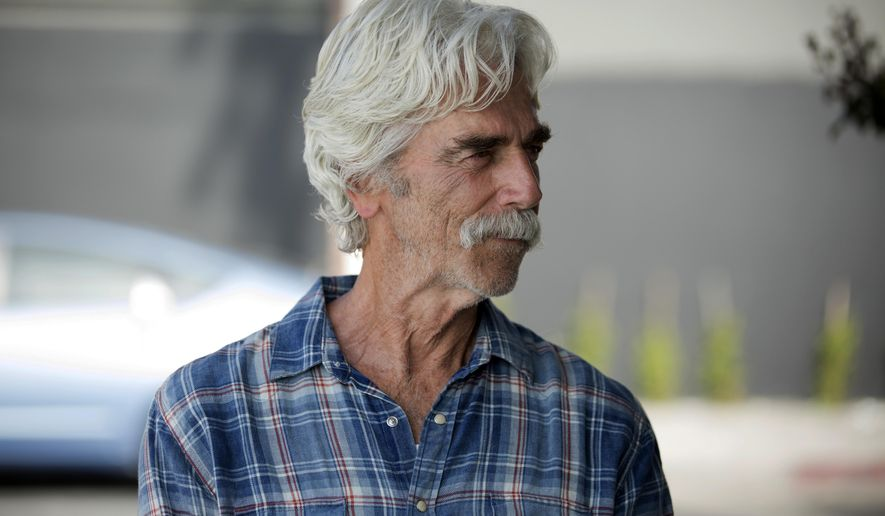 "This image released by The Orchard shows Sam Elliott in a scene from, ""The Hero."" (Beth Dubber/The Orchard via AP)"