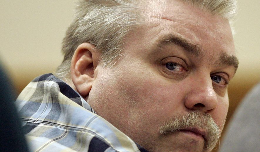 "FILE - In this March 13, 2007 file photo, Steven Avery listens to testimony in the courtroom at the Calumet County Courthouse in Chilton, Wis. A lawyer is asking for a new trial for Avery, a Wisconsin man convicted in a case profiled in the ""Making a Murderer"" Netflix series. Attorney Kathleen Zellner filed a document Wednesday, June 7, 2017, claiming Avery's conviction was based on planted evidence and false testimony. (AP Photo/Morry Gash, Pool, File)"