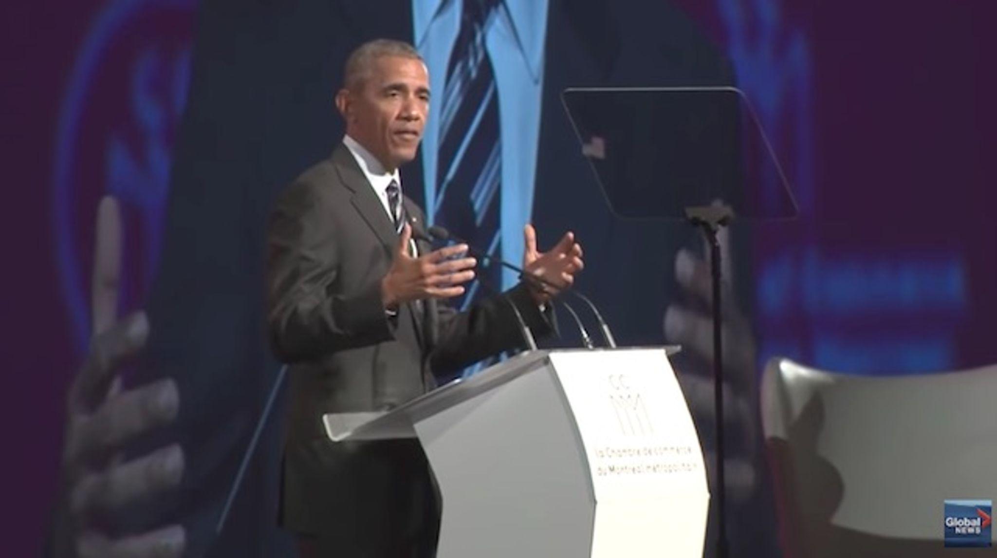 Barack Obama: \'The future does not belong to strongmen\' - Washington ...