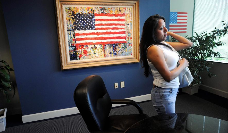 Jessica Colotl, a Georgia woman who came to the U.S. at 11, is fighting a deportation order in court after the Department of Homeland Security revoked her DACA status. (Associated Press/File)