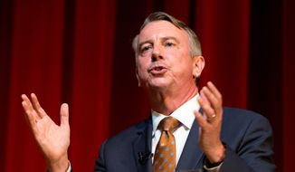 Ed Gillespie is the Republican front-runner in the race for Virginia's governor. His opponents are attacking his record. (Associated Press) ** FILE **