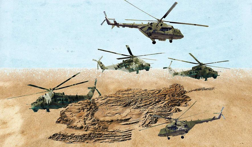 More Air Support for Afghanistan Illustration by Greg Groesch/The Washington Times