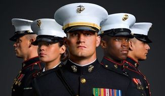 An Indiana student from Crown Point High School was ordered by the school's principal not to wear Marine dress blues to its 2017 graduation ceremony. Jacob Dalton Stanley graduated in December, went to boot camp, and then returned to walk with his classmates on June 6, 2017. (Image: Marines.com)