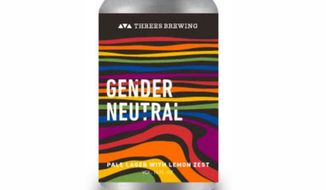 """Threes Brewing in Brooklyn, New York, will release """"Gender Neutral"""" beer on June 22, 2017, leading up to NYC Pride. (Image: Threes Brewing promotional photo)"""