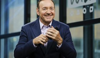 "FILE - In this May 24, 2017 file photo, actor Kevin Spacey participates in the BUILD Speaker Series at AOL Studios in New York. Spacey stars in the Netflix original series ""House of Cards,"" and will host this year's Tony Awards on Sunday, June 11. (Photo by Evan Agostini/Invision/AP, FIle)"