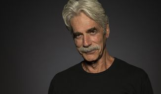 """In this June 6, 2017 photo, Sam Elliott poses for a portrait at the """"Hero"""" junket at the London Hotel in West Hollywood, Calif. (Photo by Ron Eshel/Invision/AP)"""