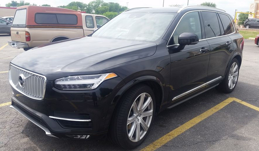 The 2017 Volvo XC90 T6 AWD Inscription