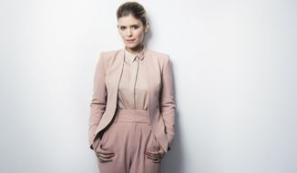 "This June 15, 2017 photo shows actress Kate Mara posing for a portrait to promote her film, ""Megan Leavey"" in New York. (Photo by Victoria Will/Invision/AP)"