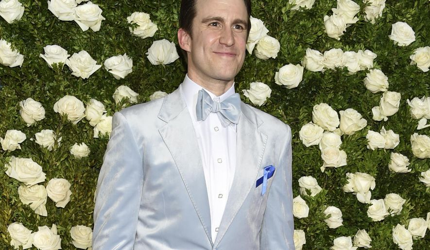 Gavin Creel arrives at the 71st annual Tony Awards at Radio City Music Hall on Sunday, June 11, 2017, in New York. (Photo by Evan Agostini/Invision/AP)