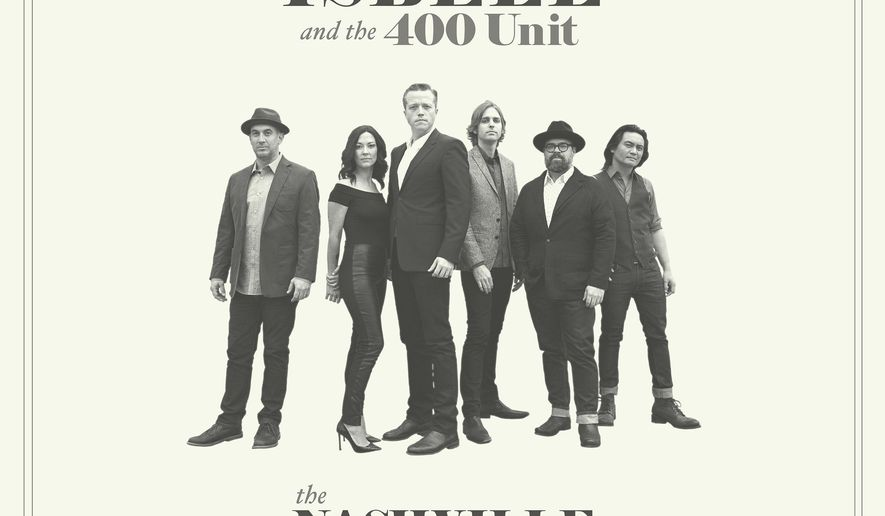 """This cover image released by Southeastern/Thirty Tigers shows """"The Nashville Sound,"""" the latest release by Jason Isbell and the 400 Unit. (Southeastern/Thirty Tigers via AP)"""
