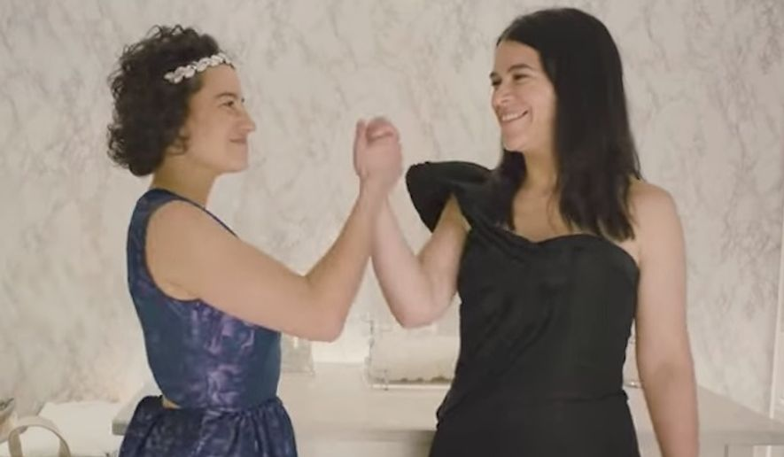 """Comedy Central's all-female comedy series """"Broad City"""" will bleep out President Trump's name as an act of protest in it's upcoming fourth season. (Comedy Central)"""