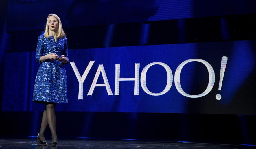 FILE - In this Jan. 7, 2014, file photo, Yahoo president and CEO Marissa Mayer speaks during the International Consumer Electronics Show in Las Vegas. On Tuesday, June 13, 2017, Verizon took over Yahoo, completing a $4.5 billion deal that will usher in a new management team to attempt to wring more advertising revenue from one of the internets best-known brands. Tuesdays closure of the sale ends Yahoos 21-year history as a publicly traded company. It also ends the nearly five-year reign of Yahoo CEO Marissa Mayer, who isnt joining Verizon. (AP Photo/Julie Jacobson, File)