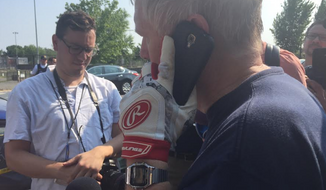 Rep. Mo Brooks described his eyewitness account of the multiple shooting Wednesday at a congressional baseball practice in Virginia.