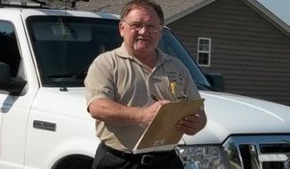 A photo of James Hodgkinson from his JTH Inspections business webpage.