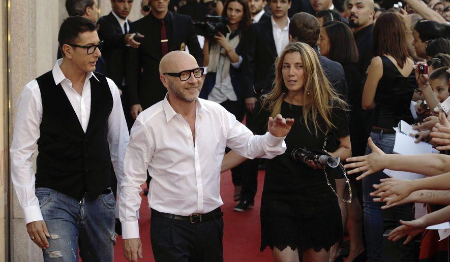 ce99f8aae5a1 Dolce   Gabbana calls out critics with boycott T-shirts - Washington ...