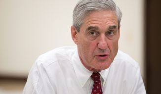 Robert Mueller, a former FBI director overseeing the investigation into Russian meddling in the election, will interpret his own boundaries in the case. (Associated Press)