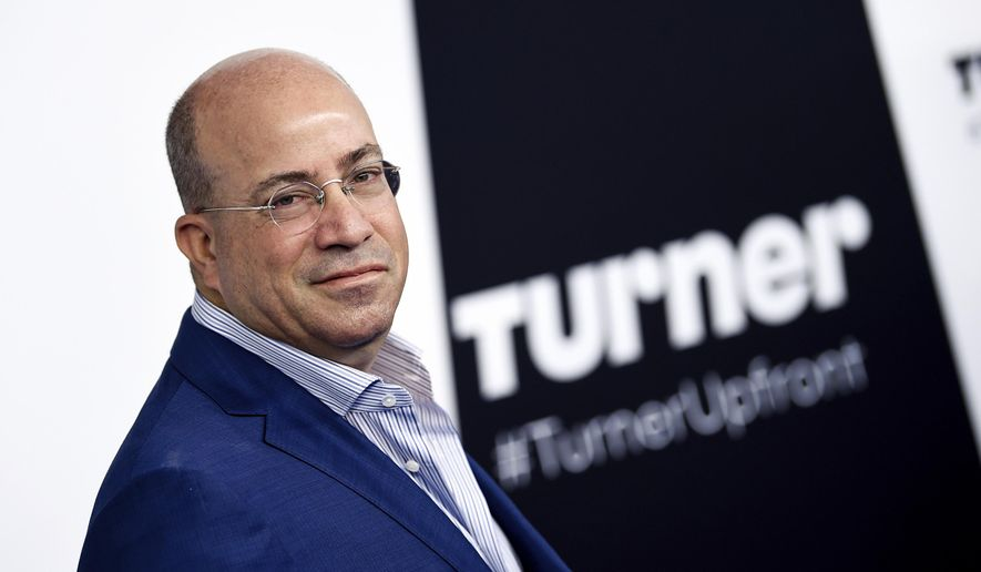 CNN President Jeff Zucker attends the Turner Network 2017 Upfront presentation at The Theater at Madison Square Garden in New York, May 17, 2017. (Photo by Evan Agostini/Invision/AP) ** FILE **