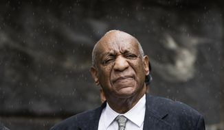 Bill Cosby after a mistrial in his sexual assault case in at the Montgomery County Courthouse in Norristown, Pa., Saturday, June 17, 2017. Cosby's trial ended without a verdict after jurors failed to reach a unanimous decision. (AP Photo/Matt Rourke)