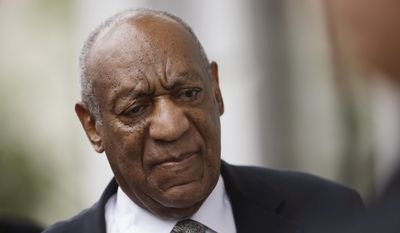Bill Cosby arrives at the Montgomery County Courthouse during his sexual assault trial, Saturday, June 17, 2017, in Norristown, Pa. (AP Photo/Matt Rourke)