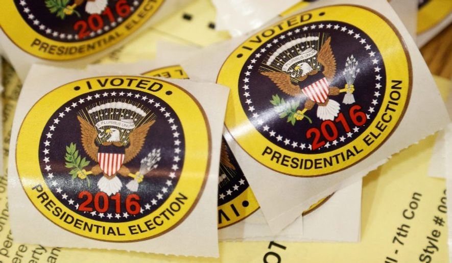 Maureen Erickson, a Virginia resident and American citizen, wouldn't have been able to vote if her husband hadn't noticed a mistake that kicked her off the state's voting rolls. Her name was purged after she listed her address in Guatemala. (Associated Press/File)