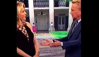 """Wheel of Fortune"" has expressed regret after a background image for ""Southern Charm"" week showing two black women on a Louisiana plantation sparked outrage. (YouTube/@joshitiola)"