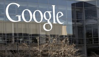 """FILE - This Thursday, Jan. 3, 2013, file photo shows Google's headquarters in Mountain View, Calif. Google is intensifying its campaign to fight online extremism, saying it will put more resources toward identifying and removing videos related to terrorism and hate groups. In a blog post Sunday, June 18, 2017, Google said that it will train more workers, called """"content classifiers,"""" to identify and remove extremist and terrorism-related content faster. (AP Photo/Marcio Jose Sanchez, File)"""