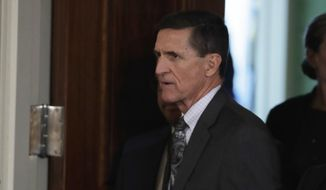 Michael Flynn, who served the shortest term as national security adviser in White House history, has not been seen publicly in six months. (Associated Press/File)