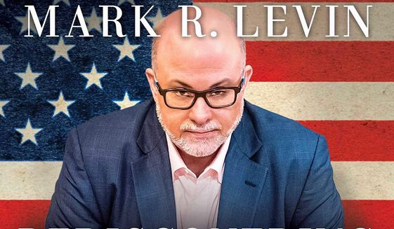 Mark Levin's new book won't be released until June 27, but the book is already in Amazon's Top 10 list of all books and ranks No. 1 in the political section. (Threshold Books)