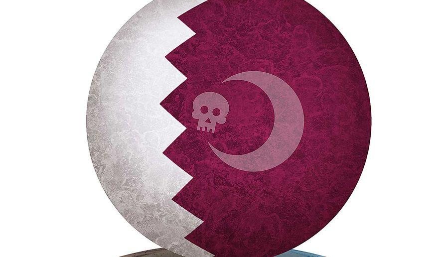 Sponsor of Terror Illustration by Greg Groesch/The Washington Times