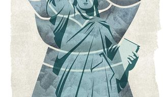Due Diligence for Our Refugee Programs Illustration by Greg Groesch/The Washington Times