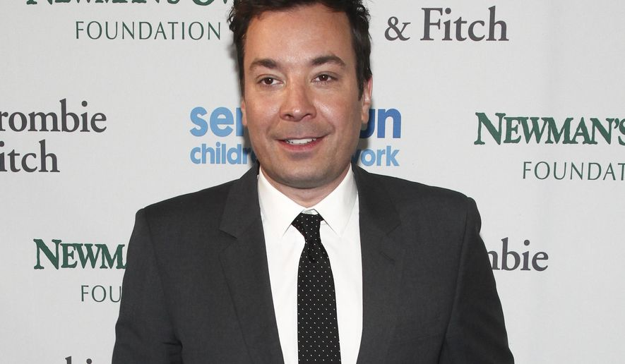 Jimmy Fallon attends the SeriousFun Children's Network Gala in New York, May 23, 2017. (Photo by Andy Kropa/Invision/AP) ** FILE **