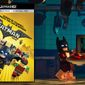 """Bruce Wayne (still wearing his Batman cowl) pulls a plate of lobster thermidor from the microwave in """"The Lego Batman Movie,"""" now available on 4K Ultra HD from Warner Bros. Home Entertainment."""