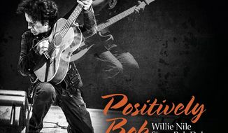 "This cover image released by River House Records shows ""Positively Bob: Willie Nile Sings Bob Dylan,"" by Willie Nile. (River House Records via AP)"
