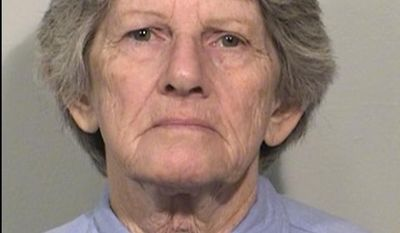 FILE - This Aug. 21, 2015 file photo provided by the California Department of Corrections and Rehabilitation shows Patricia Krenwinkel. Krenwinkel, a follower of cult killer Charles Manson, is again seeking parole Thursday 22, 2017. (California Department of Corrections and Rehabilitation via AP, File)