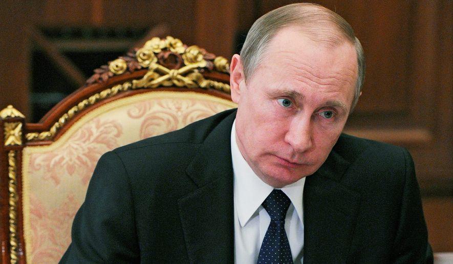 Russian President Vladimir Putin. (Associated Press) ** FILE **