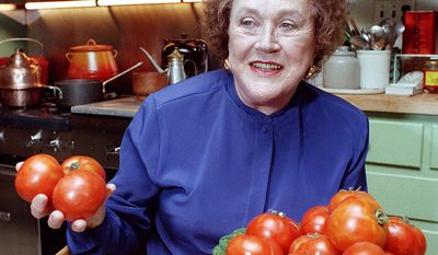 Julia Child (August 15, 1912– August 13, 2004) was a chef, author and television personality. She is recognized for bringing French cuisine to the American public with her debut cookbook, Mastering the Art of French Cooking (which was first published when she was 50), and her subsequent television programs, the most notable of which was The French Chef, which premiered in 1963