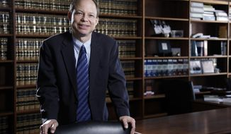FILE - This June 27, 2011 file photo shows Santa Clara County Superior Court Judge Aaron Persky in San Francisco. Activists seeking to recall Persky, who sentenced a former Stanford University swimmer to six months in jail for sexually assaulting an unconscious woman say they believe voters will still support the effort even though it wouldn't appear on the ballot until two years after the case drew national attention. The activists took the first formal step on Monday, June 26, 2017, to call for the removal of Persky. (Jason Doiy/The Recorder via AP, File)