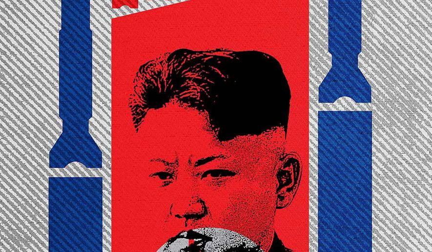 North Korea Dilemma Illustration by Greg Groesch/The Washington Times