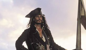 Johnny Depp as Captain Jack Sparrow      Associated Press photo