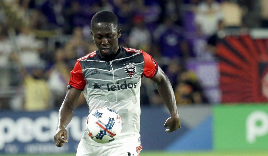 D.C. United went 2-4-1 when midfielder Patrick Nyarko missed seven matches this spring with a hamstring injury. (Associated Press)