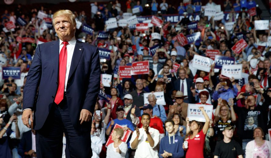 Polls and analyses were already reporting that there was media bias against the presidential hopeful, and the findings have continued. (Associated Press)