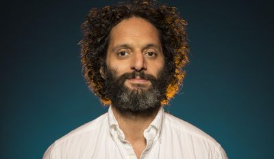 """In this June 16, 2017 photo, Jason Mantzoukas poses for a portrait at """"The House"""" junket at the London Hotel in West Hollywood, Calif. (Photo by Ron Eshel /Invision/AP)"""