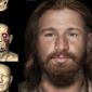 Researchers and forensic experts produced this 3-D image of an Irishman who lived 500 years ago, based on a skull found at a burial site. (Rubicon Heritage)